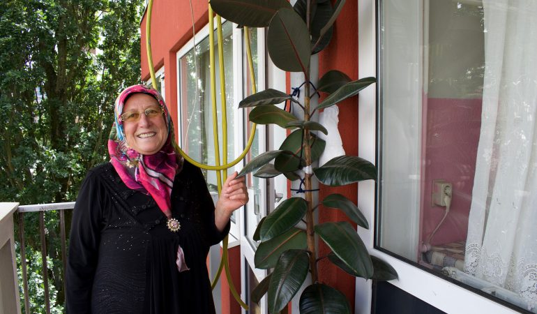 """Fatma Ildemir (63): """"Op deze plek voel ik mij veilig"""""""